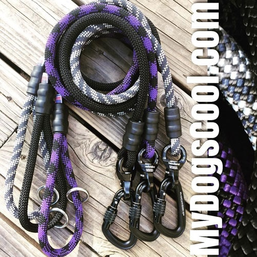 Rope Dog Leashes by MyDogsCool.com