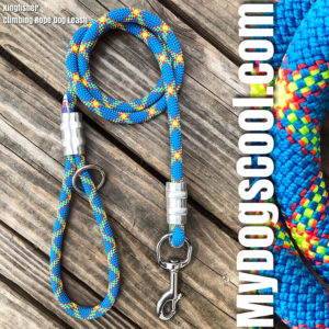 MyDogsCool Kingfisher Climbing Rope Dog Leash.